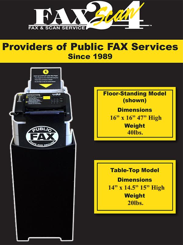 Faxscan24 Flyer Back